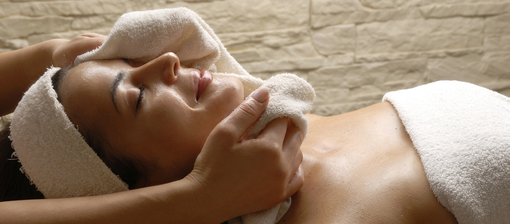 Hot Towels at River Stone Massage